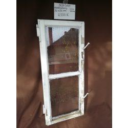2 szemes, osztott, fa ablakszárny épp üveggel