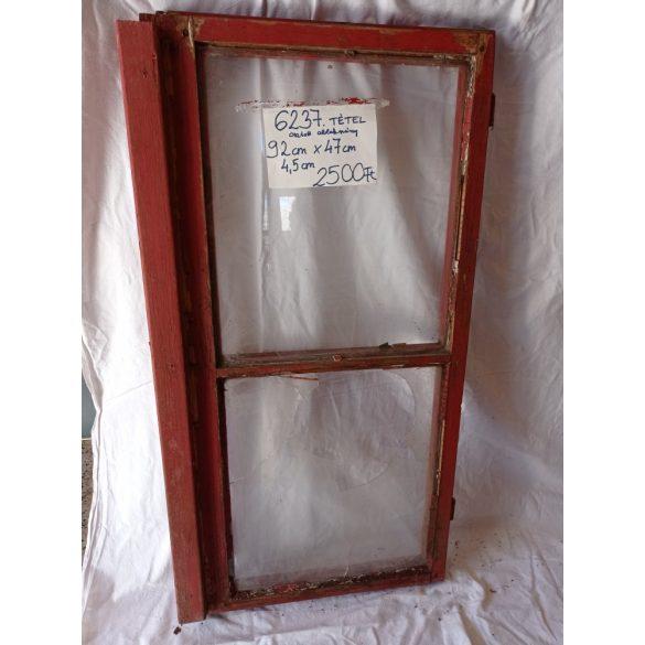 Osztott, fa ablakszárny 1 épp üveggel