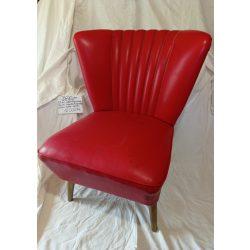 Retro, piros, club sky fotel