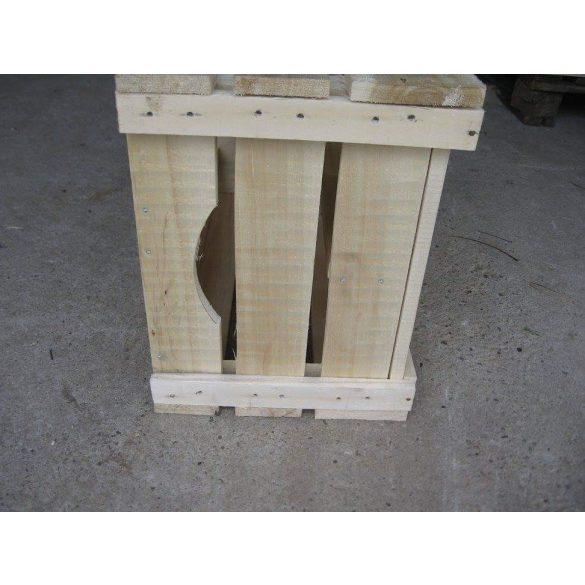 Bortartó, GEV-es almás ládából készült