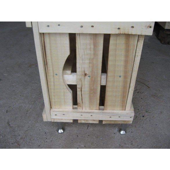 Cipős szekrény GEV-es ládából