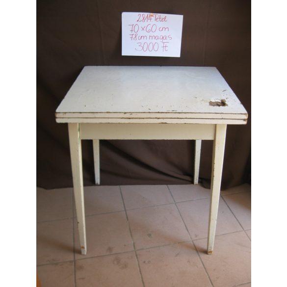 Retro, kinyitható konyhai asztal