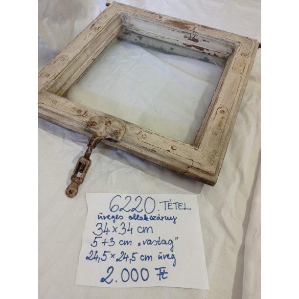 Kisméretű ablakszárny üveggel