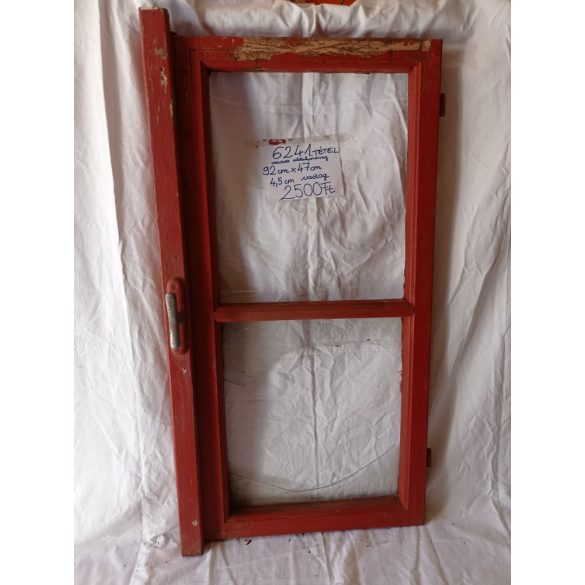 Fa, osztott ablakszárny, 1 üveggel, üveg nélkül