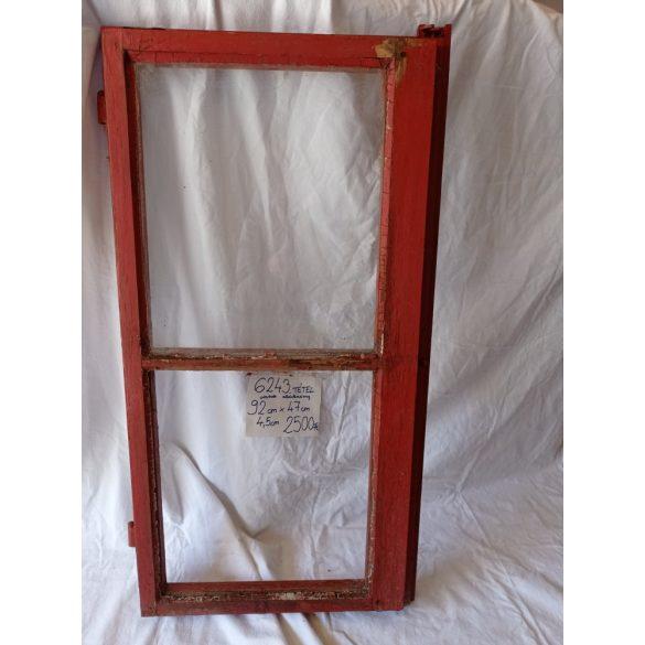 Fa, osztott ablakszárny, 1 üveggel, kilinccsel