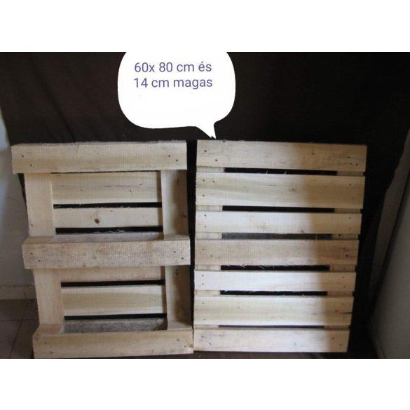 Új raklapok 60 x 80 cm